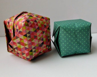 Origami Cubes Minilabo Paper Ready to use Folded Paper Cubes