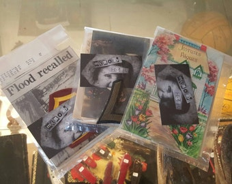 Memory Hole Ephemera Pack Grab Bag - 10+ Pieces, Photos, Postcards, Patches & More