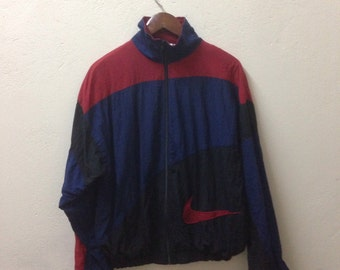 Vintage Nike Big Logo Jacket Multicolor