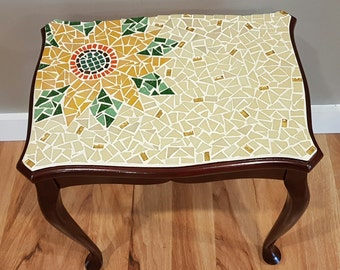 Table. Artisan side table