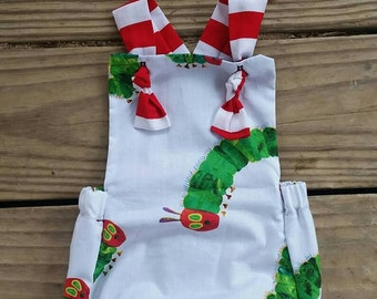 Hungry caterpillar romper