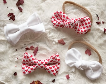 Valentines Bow Ties and Knot Bows