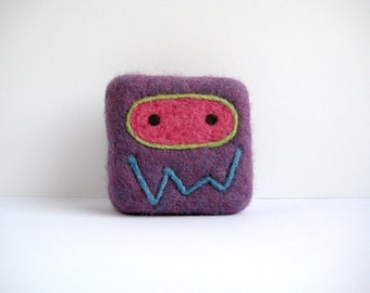 Felted soap - Purple