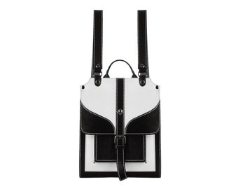 Woman backpack leather backpack big backpack small backpack exclusive backpack white bag black backpack laptop backpack leather rucksack