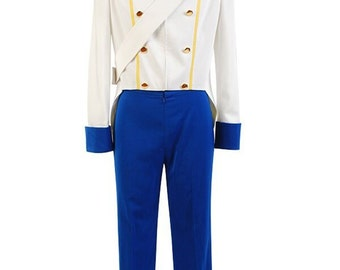 The Little Mermaid Prince Eric Cosplay Costumes