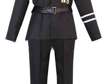 Axis Powers Hetalia Russia Uniform for Party Anime Cosplay Costumes