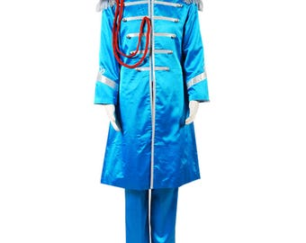 The Beatles Sgt. Pepper's Lonely Paul McCartney Band Cosplay Costumes