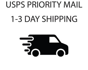 Priority Mail 1-3day Shipping