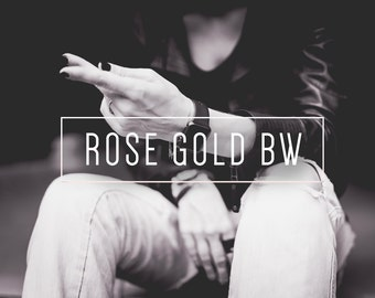 Rose Gold BW Indie Muse Collection 3 Presets  4 Tool Presets 9 LR Brushes Lightroom Presets for Professional Results by LouMarksPhoto