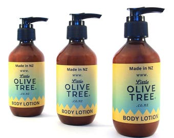 Body Lotion, made with natural ingredients in New Zealand