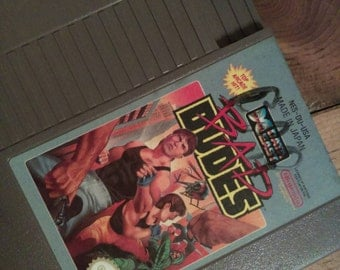 Bad Dudes Vintage NES Game Data East
