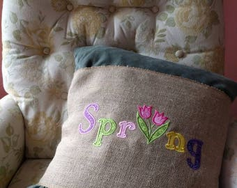 Spring pillow wrap