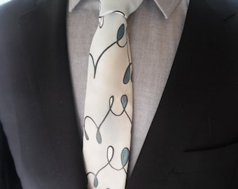Hand Painted Neckties by C. A. Gordon Clothing Co.- handpainted, handmade