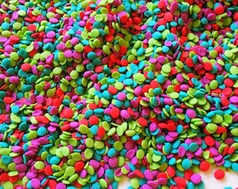 Edible sprinkles - Merry confetti quin sprinkles, christmas edible decorations, cake, cookie, cupcake sprinkles, xmas