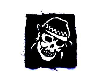 Rockabilly Patch, Psychobilly Patch, Horror Patch, Ska Clothing, Reggae Patch, Punk Accessories, Skinhead Patch, Logo Design, Silk Screen
