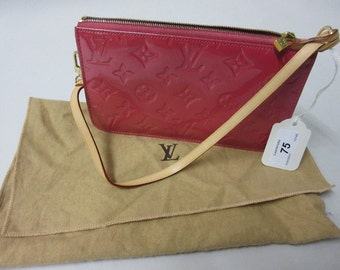 Vintage Ladies Louis Vuitton Pink Monogram Handbag