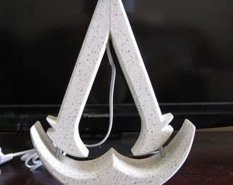 Granite Assassins Creed lamp