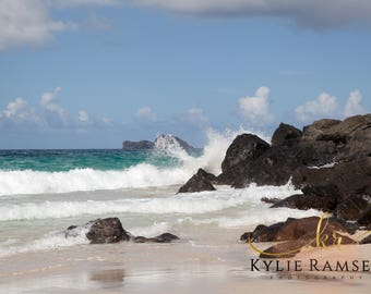 Hawaii, Beach, Digital Image, Photography. Kylie Ramsey
