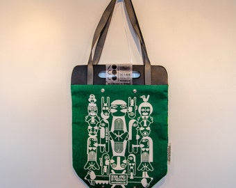 Tote Bag Sexual Africa Green