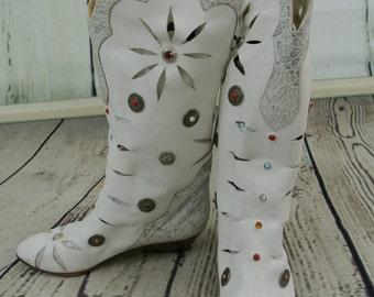Rare Designer 80s  Boots (Raffaele Giardini)