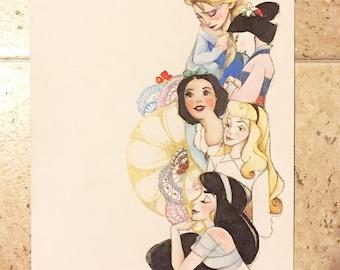 Disney Princess sketch