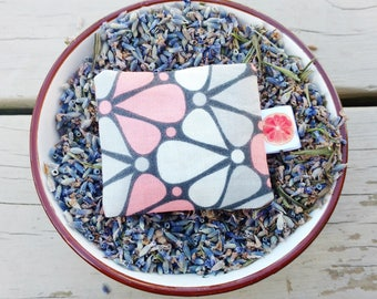 Organic Lavender sachet, decoration, interior fragrance.
