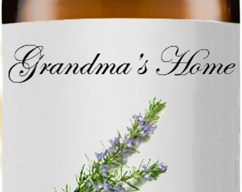 Rosemary Oil - 5mL+ - Grandma's Home 100% Pure and Natural Theraputic Aromatherapy Grade Essential Oils