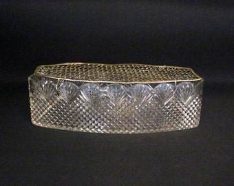 Vintage Crystal diamond range smoothed Sabir-Netherlands-ca. 1920