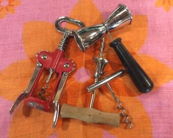 Barware / corkscrews & jigger