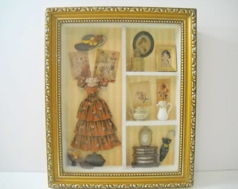 Victorian Shadow Box