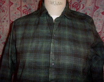 old vintage, country work shirt