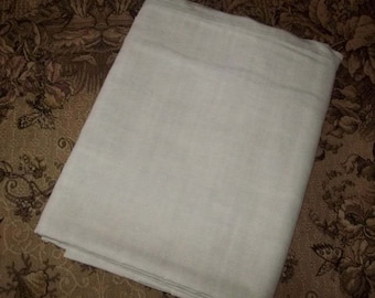 A former cloth linen, beautiful old canvas a little rustic