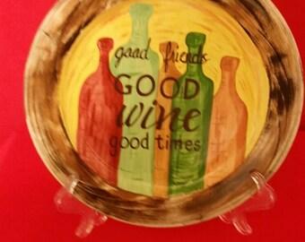 Good Friends Decorative Plate