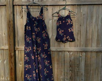 Custom Mommy and me maxi dresses, matching outfits, girls dress, women's dress, summer outfit