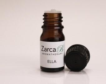 ELLA, Floral Essential Oil Blend, Aromatherapy, Lavender Oil, Perfume Blend, Pure Essential Oils, Botanical Oil, 5 ML