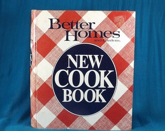 Better Homes and Gardens Vintage 1981 Notebook Cookbook