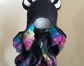 Octopus Beanie Hat *ready to ship*