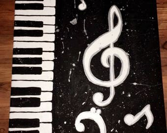 Piano Musical Painting