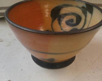 Terry Gess Hand Painted Bowl