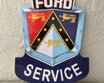 Ford Service METAL SIGN VINTAGE garage car 1404171