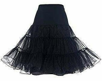 Petticoat 23in 2 layers black