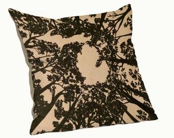 Michigan Treetops Pillow (18x18)