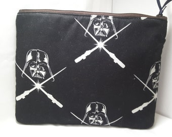 darthvader bag, darthvader purse, starwars bag,darthvader clutch