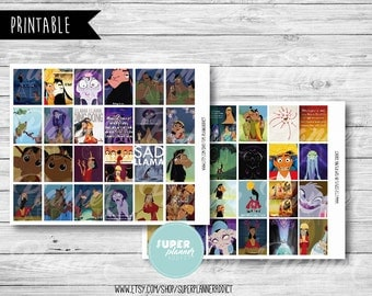 50% OFF SALE  The Emperors New Groove Planner,The Emperors New Groove stickers,disney planner, disney stickers,Erin Condren stickers-COD180