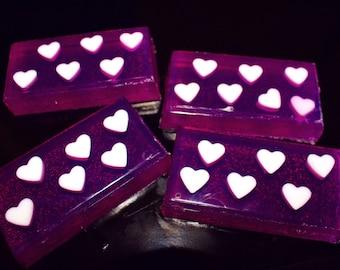 Lavender & Vanilla Scented Soap