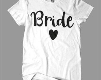 Bride Graphic Tee - engagement - wedding - bachelorette - bridesmaid