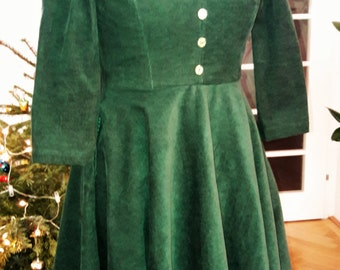 1950s vintage style dream dress