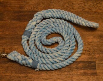 Distressed Soft Rope Dog Leashes: Distressed, Multitone, Sweater