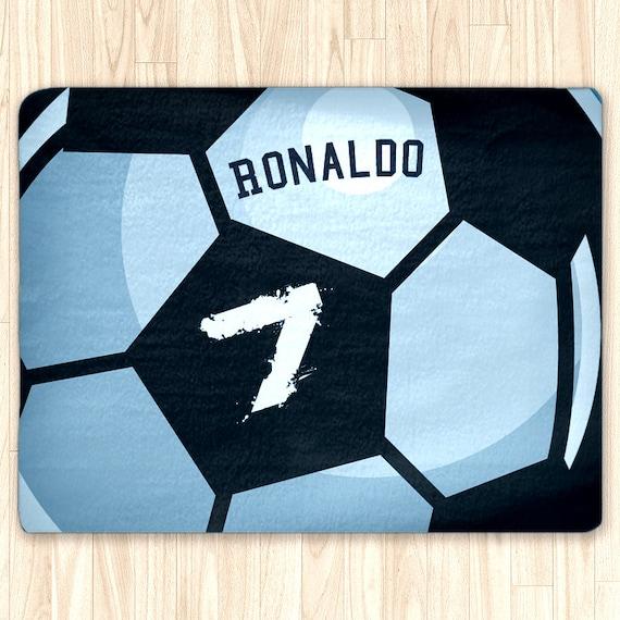 Personalized Soccer Area Rug Custom Area Rug Soccer Ball