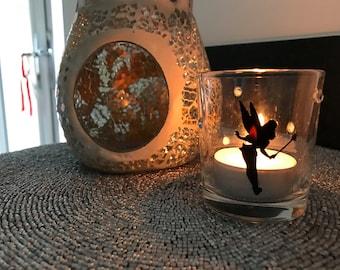 Tinkerbell Tea Light Holder